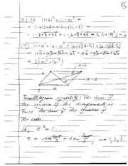 Mathematical Analysis Homework Equations