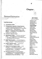 Demand Estimantion (Chapter 4) - Salvatore