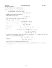 3.9 Proof by Mathematical Induction I