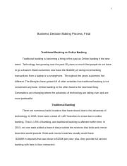 Business Decision Making Process, Final.docx