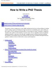 How-to-Write-a-PhD-Thesis