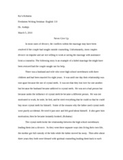 ENG 110 Research Final Paper