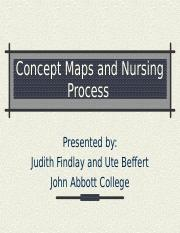 Concept Maps and Nursing Process Judith 2005 (1)