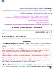 Land Law Easements - study notes.pdf