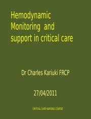 HAEMODYNAMIC MONITORING 2.ppt