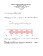 Midterm-2014 - solutions