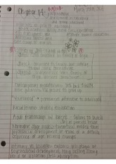Psychology notes ch. 14 and 15