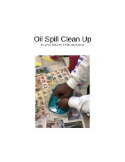 Oil spill clean-up.docx