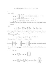 MATH 225 Homework 4 Solutions