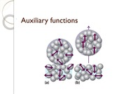 Auxiliary functions
