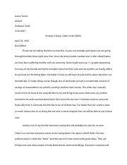 Aaron Torres Graded HIS 102 Lesson 5 Essay