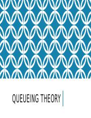 Chapter 5-Queueing Theory-Part 1.pptx