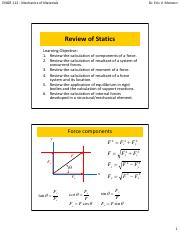 01_Review of Statics