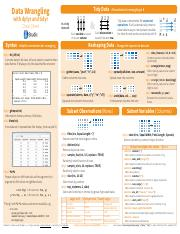 stat 202 cheat sheet { a cruder method is to use the 68-95-997% rule (check to see whethe data is with one, two and three sample sd of the sample mean) measures of center given data x.