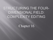 Lecture 16 - Complexity Editing-1-1