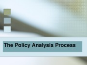 082712 - Policy Analysis Process - PAM 2300