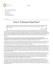 Science 326 __ Unit 7 Is Science Value Free_.pdf