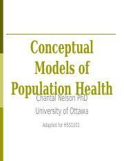Population Health Models - Fall 2014.ppt