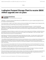 Ludington Pumped Storage Plant to receive $800 million upgrade over six years | MLive.com.pdf