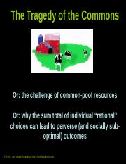 SMO tragedyofcommons from Campbell.ppt