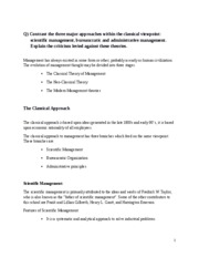 management assignment 2
