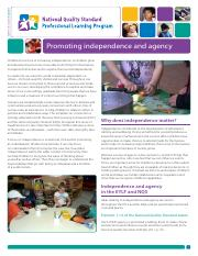 Promoting Independence and agency article.pdf