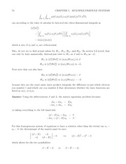 Fund Quantum Mechanics Lect & HW Solutions 92