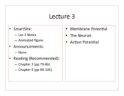 1 - Lecture 3 Notes