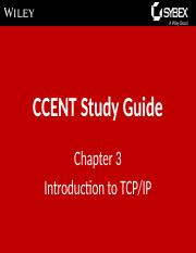 CCNA Routing and Switching Study Guide_Chapter3