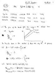 Thermal Physics Solutions CH 4-5 pg 87