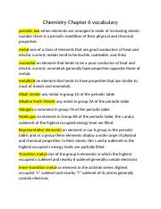 chemistry vocabulary chapter 5 Chapter 5 wrap-up  chemistry: matter and change  vocabulary, and develop their thinking skills by writing in order to achieve academic success.
