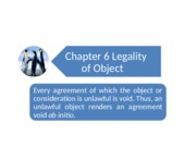 Chapter 6_ Legality of Object