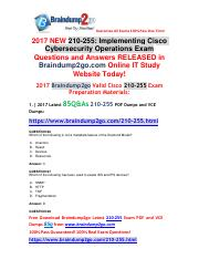 (July-2017)Braindump2go 210-255 Dumps PDF and Dumps VCE 85Q New Updated(66-71).pdf