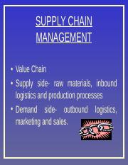 Supply_Chain_Management Unit 2