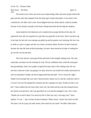 The Purse Short Story Essay