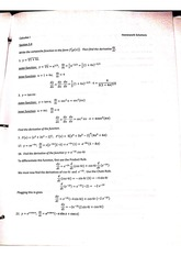 Chain Rule problems with answers