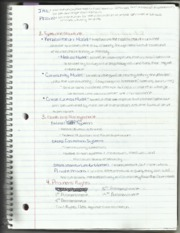Criminal Justice 102 Structure Notes