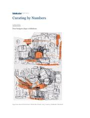 2013 Eleanor Nairne ; Curating by Numbers (Frieze Vol. 154).pdf
