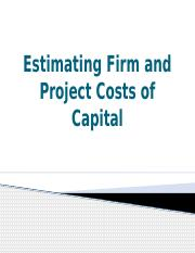 12-Estimating Costs of Capital_b