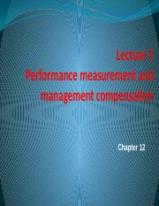 公司金融理论Lecture-5-Performance-measurement-and-management-compensation-new