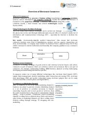 (1) Overview of Electronic Commerce.doc