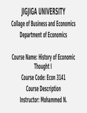 History of Econ Thought I.pptx
