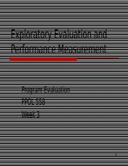Week 3 PPT Exploratory evaluation and performance measures.ppt