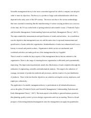 Historical Theories of Management.docx