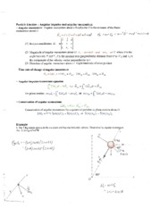 2304 Particle Kinetics Notes