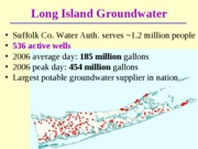 Lecture 11 - NYC Water - Soil