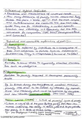 Criticisms of Hybrid Definition Exam Essay Revision Notes