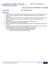 nr351 professional paper guidelines 2 View essay - nr351 professional paper guidelines 030216 (2) from nr 449 at chamberlain college of nursing chamberlain college of nursing nr351 transitions in professional nursing professional paper.
