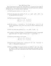 Exam Solutions (6)