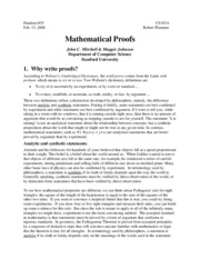 35 Mathematical Proofs